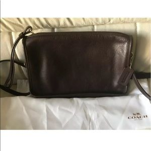Coach Classic brown leather purse